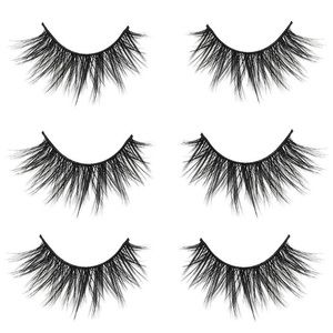 3D False Eyelashes 3Pairs